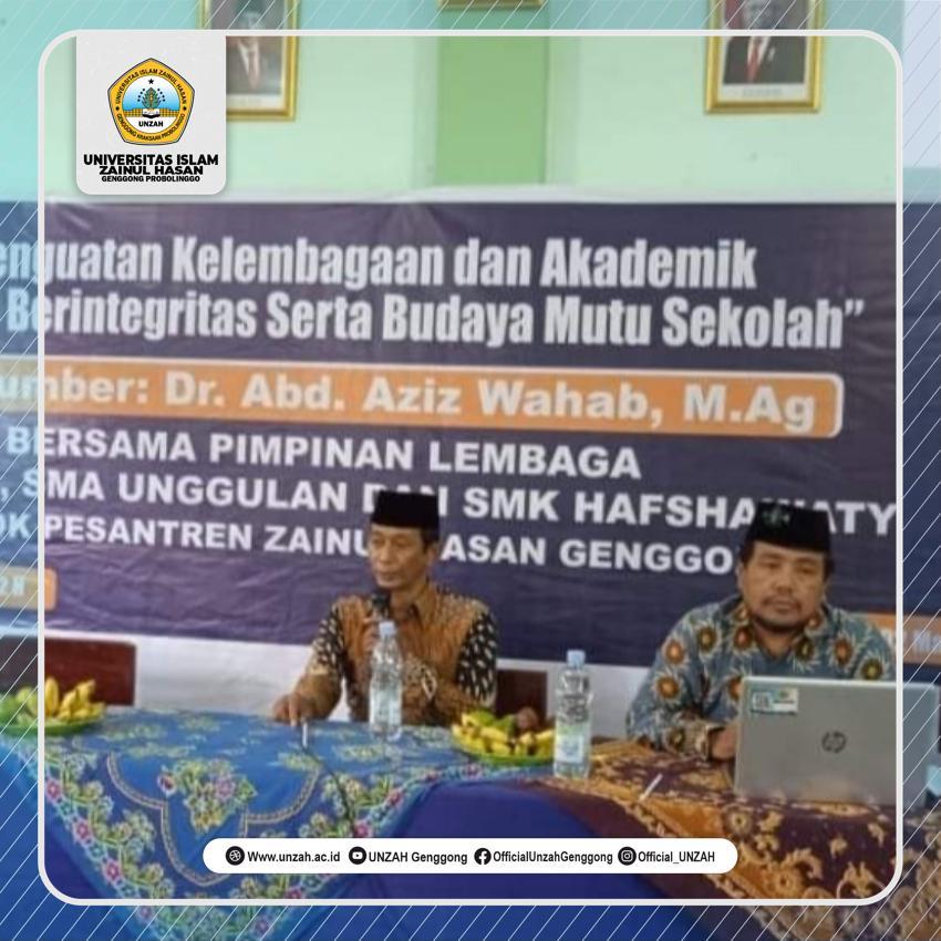 Tingkatkan Integritas, Rektor UNZAH Gelar Pelatihan Akademik.