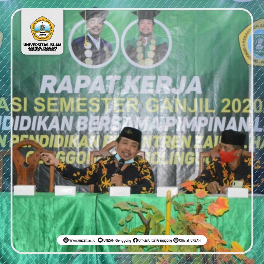 Dr. Abd Aziz: Pendidikan Genggong Harus Mampu Mewujudkan Keunggulan Karakteristik Sekolah.