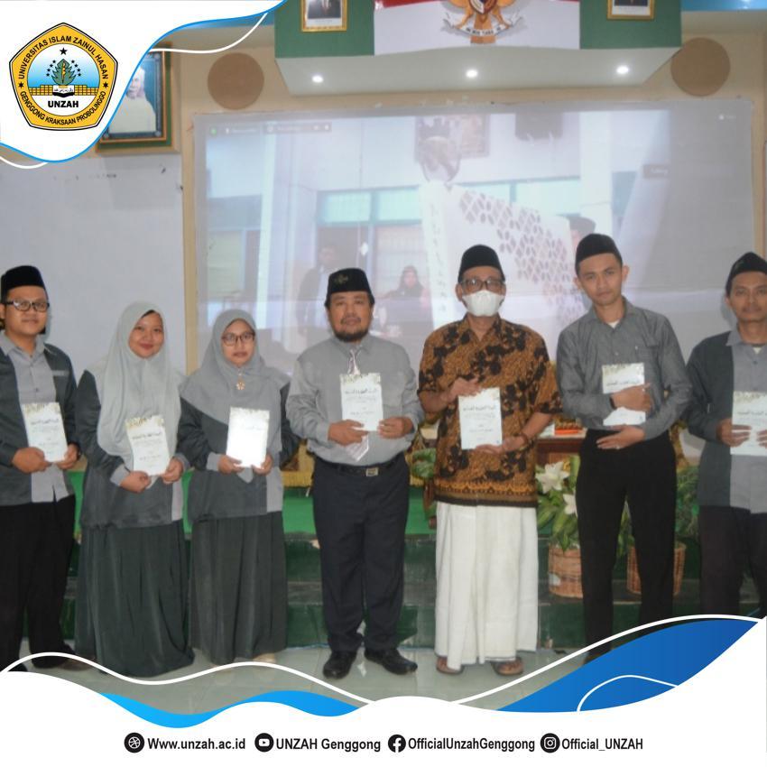 Launching Buku Karya Ketua MUI Jatim Turut Meriahkan Dies Natalis UNZAH ke-52.