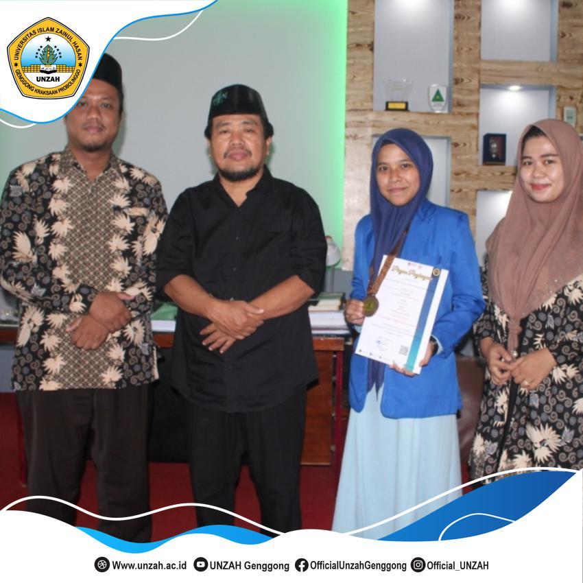 Lagi, Mahasiswi TDM UNZAH Meraih Medali Perunggu Dalam Gelaran Bergengsi CSC POSI 2021.