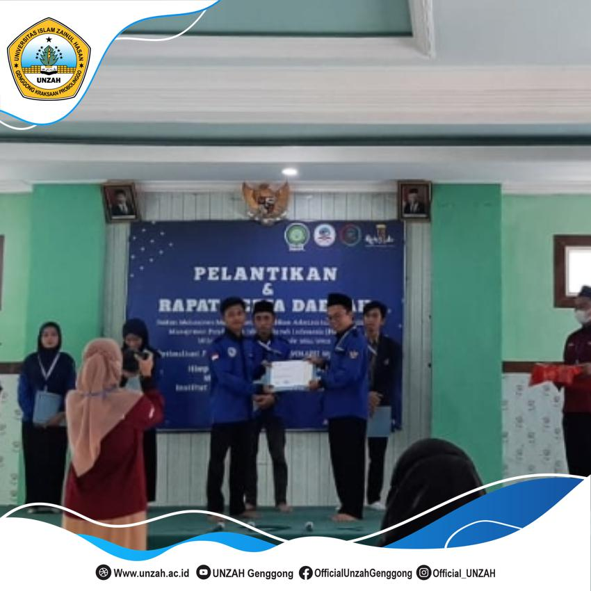 Mahasiswa MPI UNZAH Terpilih Sebagai Pengurus Teraktif Dalam IMMAPSI Wilayah Jatim, Ini Kata Ketua Prodi MPI UNZAH.